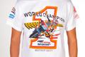 Honda celebrating Stoner's world title with world champion t-shirt