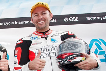 Breakthrough win for Stauffer sets up battle of the Hondas