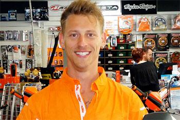 Stunt rider Lukey Luke signs with KTM Australia for 2013