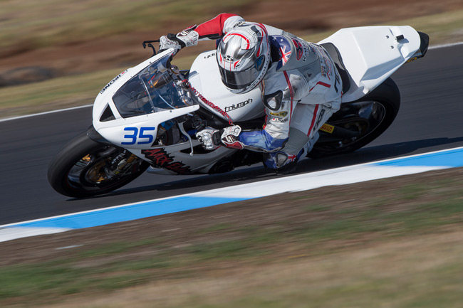 2012 Australian Supersport Champion Mitchell Carr is back in action at round two of World Supersport competition in Spain this weekend. Image: Andrew Gosling/TBG Sport.