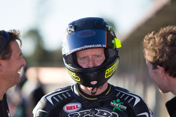 Allerton and Blair lead into ASBK Superpole sessions in Queensland