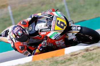 Bradl tops Friday practice at Brno, Miller makes incredible Moto3 return