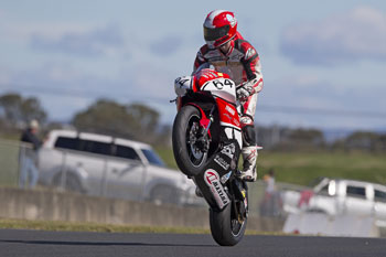 Morris takes race one win during Sydney's fifth Supersport round