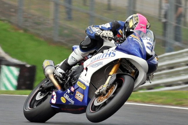 Billy McConnell won the Supersport sprint race and was on the podium again in the feature.