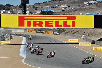 Late race charge sees Laverty win second Laguna Seca WSBK race