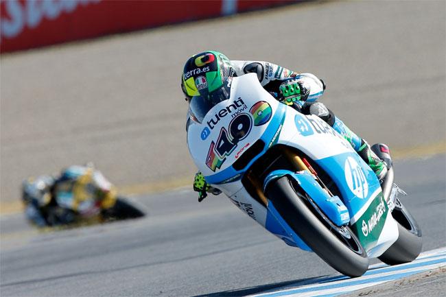 Pol Espargaro is the 2013 Moto2 World Champion.