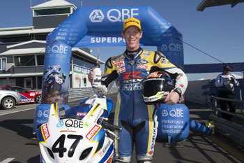 Maxwell in box-seat for maiden ASBK crown with Phillip Island Superpole