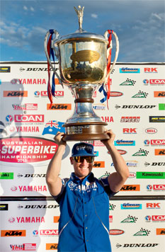 Parkes clinches FX-Superbike crown at Sydney Motorsport Park