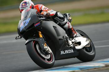 Stoner impressed following first laps on Honda 'MotoGP Production Racer'