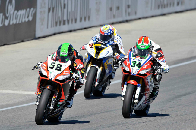 The World Superbike Championship continues on for consecutive weekends at Magny-Cours in France.