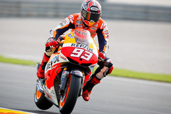 Marquez leads the way in Valencia free practice