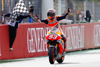 Marquez crowned 2013 MotoGP champion after thrilling Valencia finale