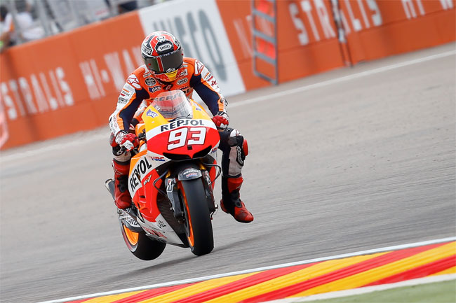 Marc Marquez starred on his way to the 2013 MotoGP World Championship.