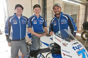 Tyco Suzuki testing at Cartagena