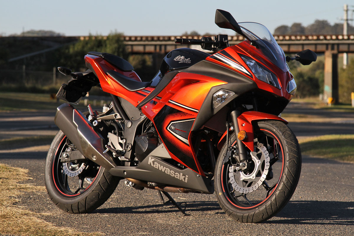 tested 2014 kawasaki ninja 300 abs special edition cycleonline com au