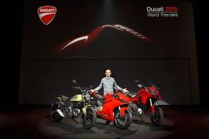 1299 Panigale headlines Ducati 2015 World Première event