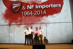 NF Importers celebrates 50 years with Ducati