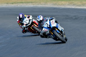 Spriggs in ASC supersport thriller
