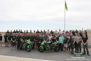 Another successful Kawasaki Team Green Australia track ride day
