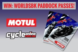 Win Motul WorldSBK paddock passes with CycleOnline.com.au
