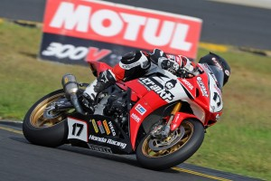 Tough weekend of the ASBK run and won for the Crankt Protein Honda Racing Team