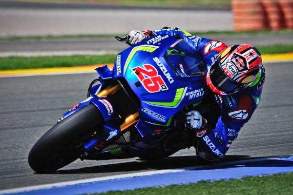 Suzuki improves MotoGP chassis in private Valencia test