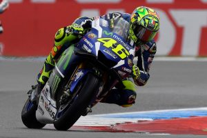 Rossi rues costly Dutch TT crash out of the lead