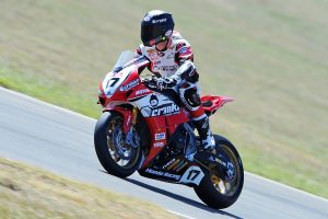 Herfoss concludes Morgan Park ASBK test on top