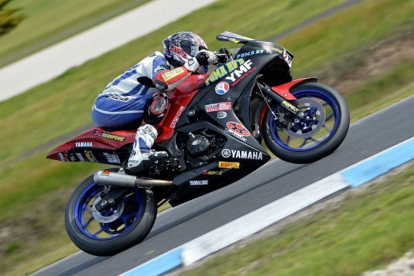 Levy takes control of R3 Cup series at Phillip Island