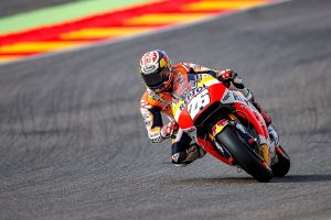 Pedrosa maintains form on Friday at Aragon grand prix