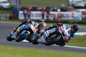 Australian local Jones scores first MotoGP point at Phillip Island