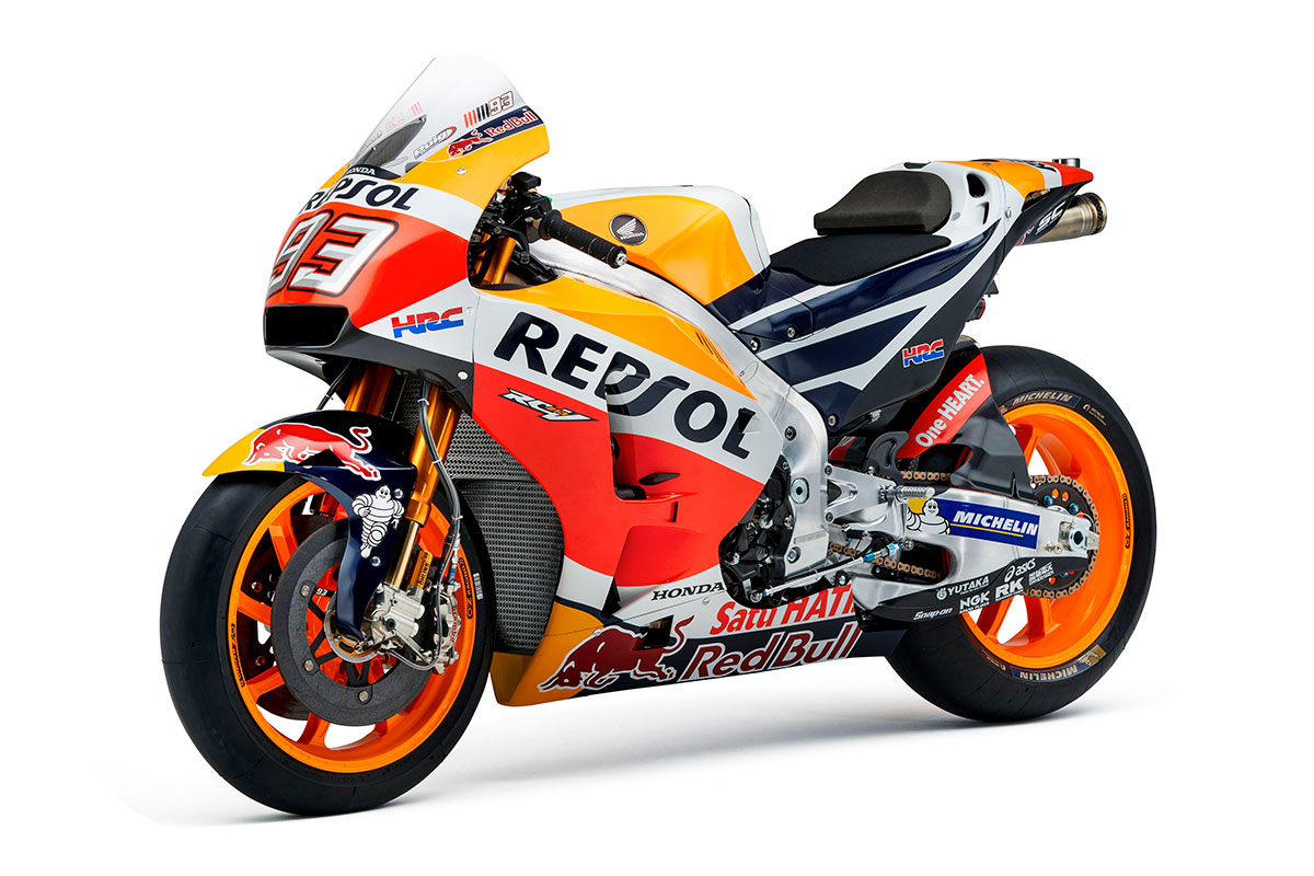 latest repsol honda unveiled at 2017 team launch. Black Bedroom Furniture Sets. Home Design Ideas