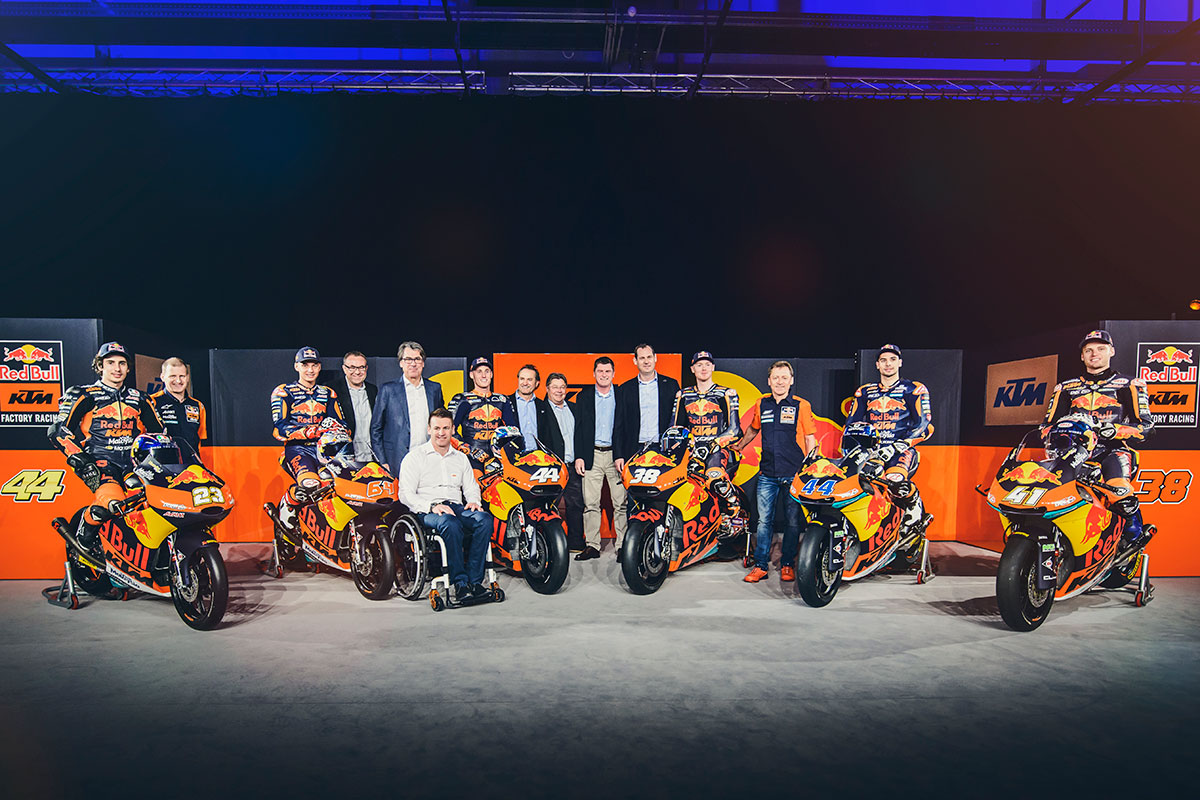 Red Bull KTM launches ambitious new MotoGP program - CycleOnline.com.au