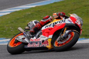 Marquez injures shoulder in private test at Jerez
