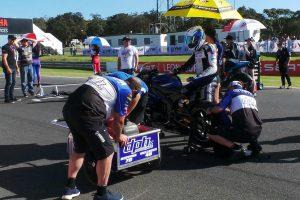 DPH Motorsport experience a range of emotions in ASBK debut