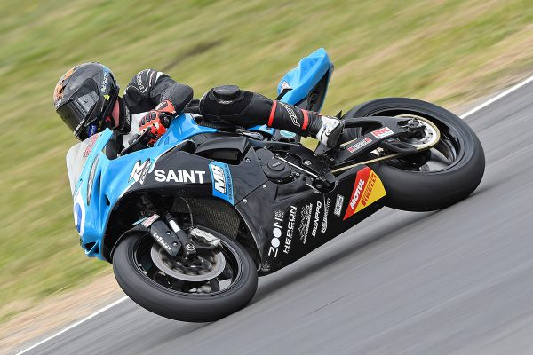 Collins soars to ASBK Supersport pole at Winton