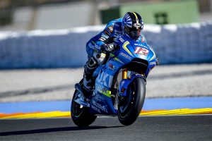 Suzuki test rider Tsuda standing in for Rins at Jerez