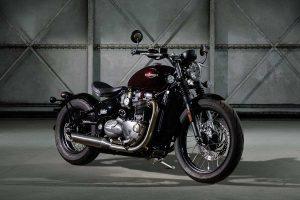 Bike: 2017 Triumph Bonneville Bobber