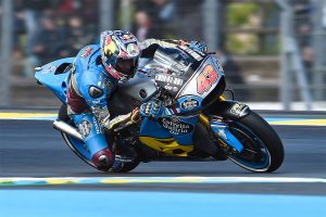 Miller tops MotoGP time-sheets in damp opening day at Le Mans