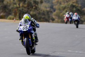 Yamaha riders stand tall at Morgan Park