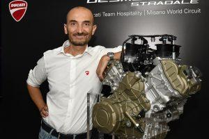 Ducati unveils MotoGP-inspired Desmosedici Stradale V4 engine