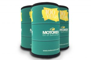 Motorex celebrates 100 years with stubby cooler promotion