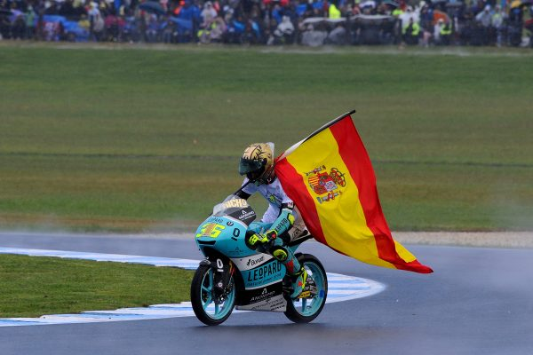 Mir crowned Moto3 world champion with thrilling Phillip Island win