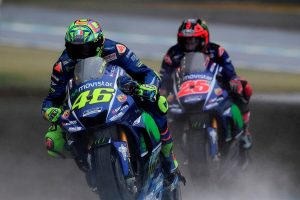 Rossi's wet setting struggles result in disappointing DNF at Motegi
