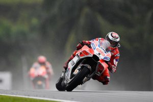 Lorenzo 'at ease' with Ducati machine in Sepang runner-up