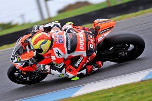 Progression the focus for DesmoSport Ducati's Turner at Phillip Island