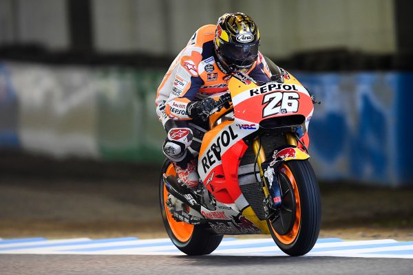 Rear tyre problem puts Pedrosa out of Japanese grand prix