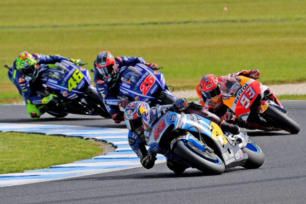 Miller seventh after leading opening laps at Phillip Island