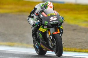 Zarco splashes to second MotoGP pole position at Motegi