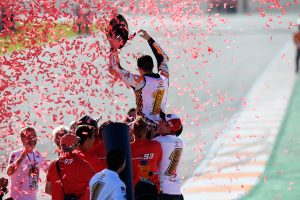 Marquez earns fourth MotoGP crown as Pedrosa wins Valencia finale